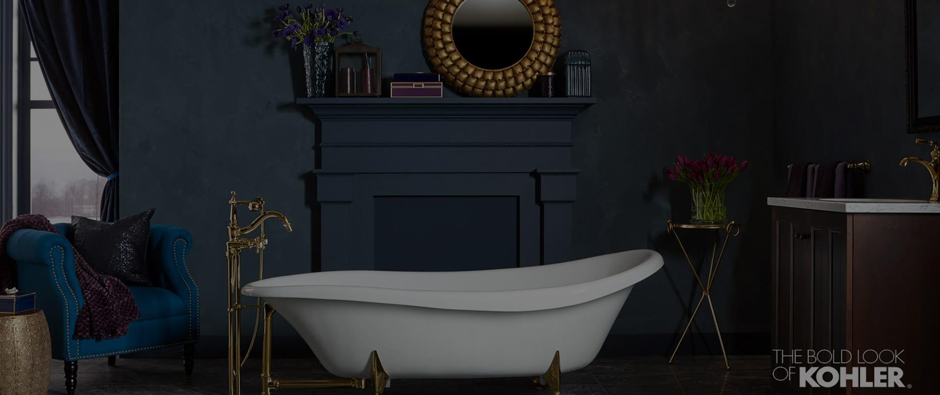 A kohler Bathtub