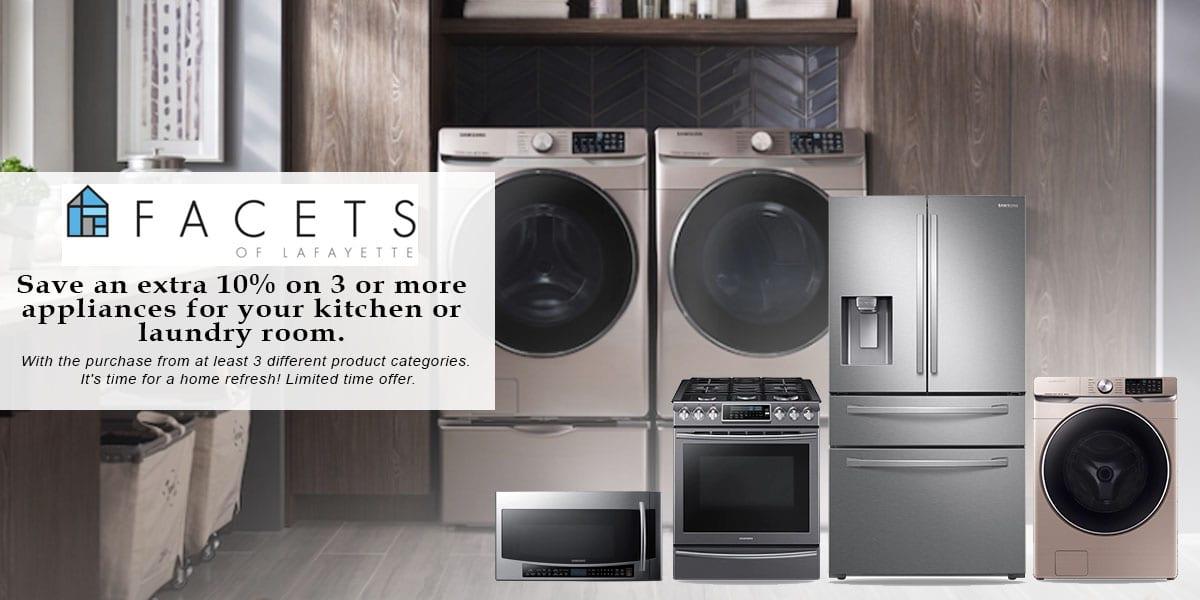 Samsung Appliance Promotion